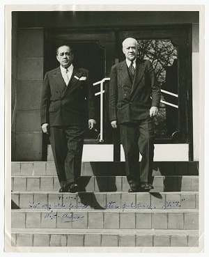 "Image for Photograph of W.H. ""Chief"" Aiken and unidentified man"