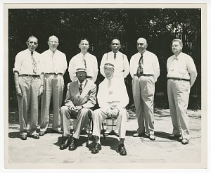 Image for Photograph of the senior officers of the Atlanta Life Insurance Company