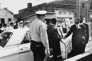 Image for Birmingham Police Escorting Rev. Ralph Abernathy and Dr. Martin Luther King, Jr., for Questioning