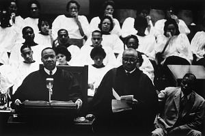 Image for Dr. Martin Luther King, Jr., and Daddy King, Ebenezer Baptist Church