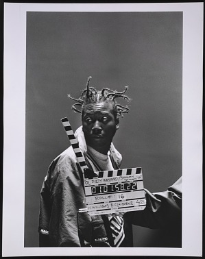 """Image for Photograph of Ol' Dirty Bastard on the set of the """"Shimmy Shimmy Ya"""" video"""
