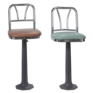 Image for Lunch counter stool from Greensboro, North Carolina sit-ins