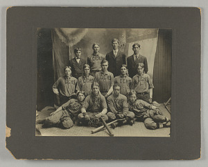 Image for Photograph of Chase County High School (Kansas) baseball team