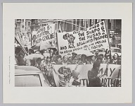 Image for Print of an anti apartheid protest