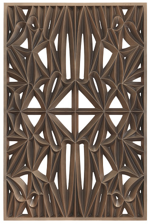 Image for Corona panel designed for NMAAHC (Type F: 90% opacity)