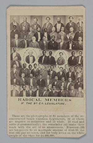 Image for Radical Members of the South Carolina Legislature