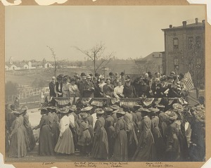 Image for Photograph of the 25th anniversary of the founding of Tuskegee Institute