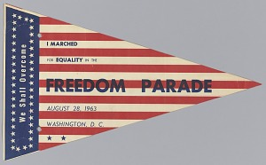 Image for Pennant from The March on Washington for Jobs and Freedom