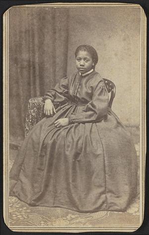 Image for Carte-de-visite portrait of Susie Bruce