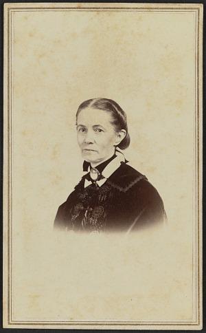 Image for Carte-de-visite portrait of an unidentified woman