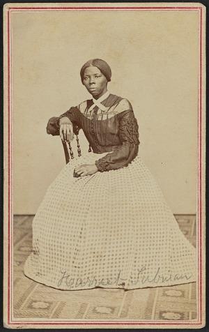 Image for Carte-de-visite portrait of Harriet Tubman
