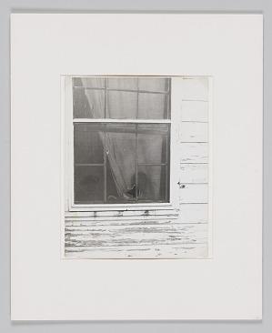 Image for Portrait of Sartin boy peeking out window