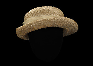 Image for Straw hat owned by Rosa Parks