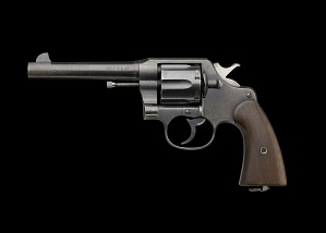 Image for M1917 Revolver issued by US Army during WWI to Charles H. Houston
