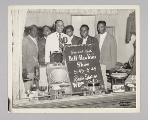 Image for Photograph of Bill Hawkins with Billy Ward & His Dominos and Clyde McPhatter