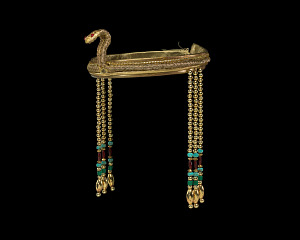 Image for Cleopatra costume headband worn by Lauren Anderson