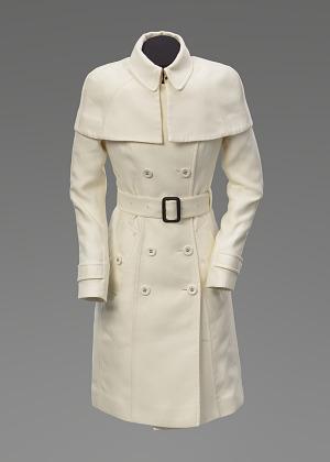 Image for Ivory coat worn by Kerry Washington as Olivia Pope on Scandal