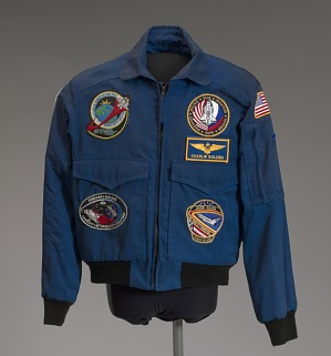 Image for NASA flight jacket owned by Charles Bolden