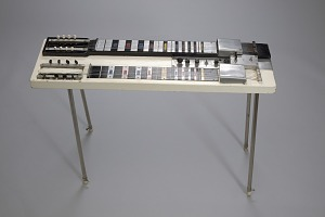 Image for Electric console steel guitar built by Felton W. Williams, Jr.