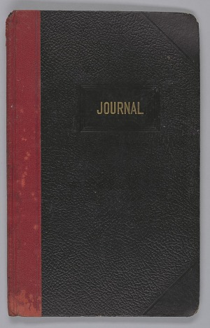 Image for Journal from the Wayman Chapel A.M.E. Church in Lyles Station