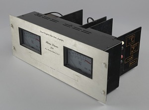 Image for Amplifier used as part of a DJ setup
