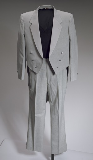 Image for Grey tail coat worn by Cab Calloway