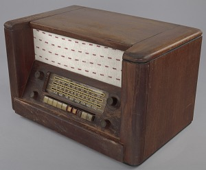 Image for Radio owned by Herman and Minnie Roundtree