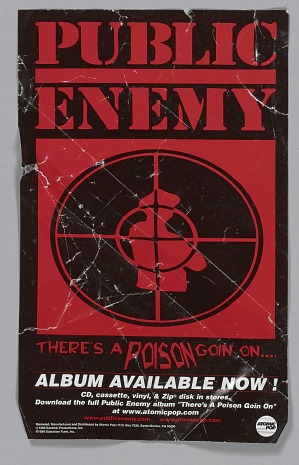 Image for Flier for the Public Enemy album There's a Poison Goin On