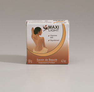 Image for Package of Maxi Light Beauty Soap