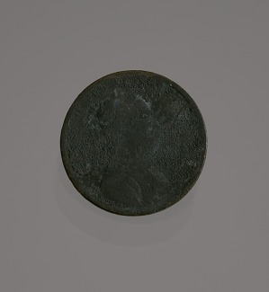 "Image for ""Riot penny"" charred during the 1921 Tulsa race riot"