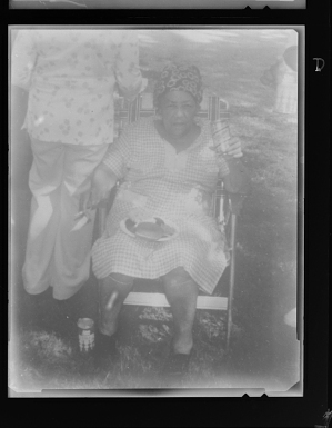 Image for Copy Work, Photo of a Woman Sitting