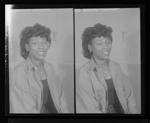 Image for Studio Portrait of a Woman Sitting, Studio Portrait of a Woman Sitting, Diptych