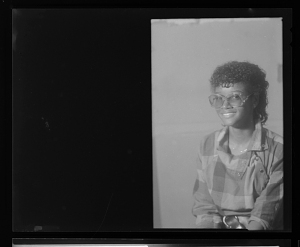 Image for Studio Portrait of a Woman Sitting, Diptych