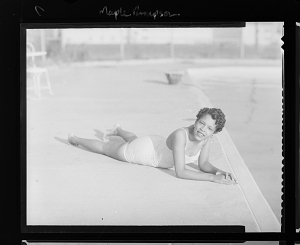Image for Outdoor Photo of a Woman Wearing a Bathing Suit, Maple Rempson
