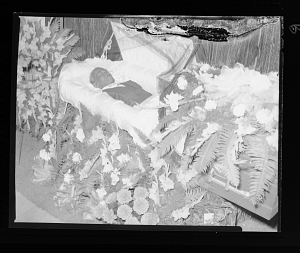 Image for Funeral, Man in an Open Casket