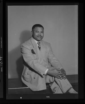 Image for Studio Portrait of a Man Sitting, Dr. C.B. Clark