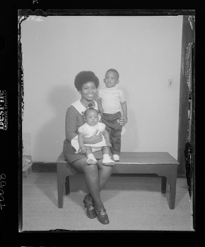 Image for Studio Portrait of a Mother with her Children