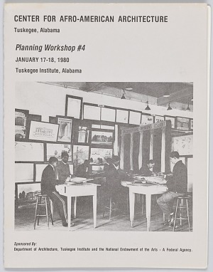 Image for Documents from an architecture workshop at Tuskegee University