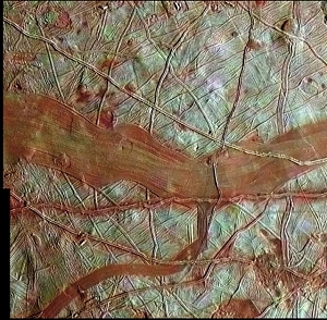 Europa's Icy Terrain