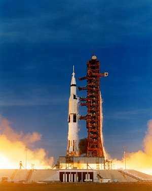 Apollo 15 Liftoff
