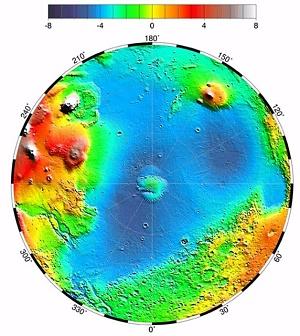 Chryse Basin, Mars