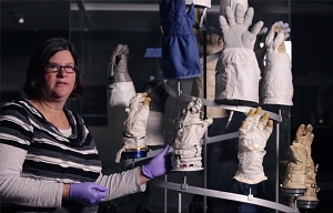 Glove Helix: Spacesuit Glove Materials, Conservation and Display