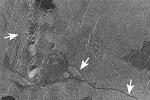 Canali on Venus
