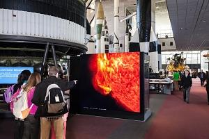 Dynamic Sun Video Wall