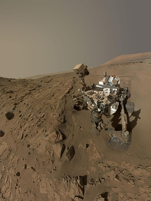 Curiosity Self-Portrait at 'Mojave'