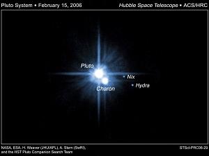 Four Pluto Moons