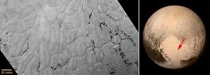 Pluto's Frozen Plains