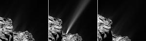 Rosetta Spies Jet