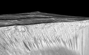 Evidence for Liquid Water on Mars Today!
