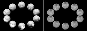 A Day on Pluto and Charon